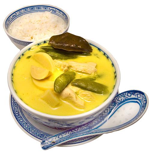 zupa galangalowa fota
